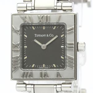 【TIFFANY】ティファニー アトラス スクエア ステンレススチール クォーツ レディース 時計