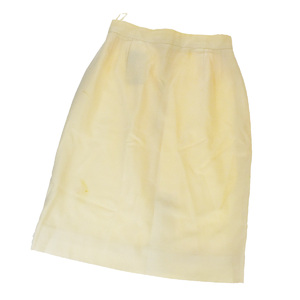 Chanel Casual Tight Skity Ivory Size 38