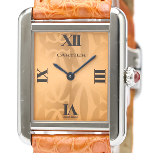 Cartier Tank Solo Quartz Stainless Steel Women's Dress Watch W1019455