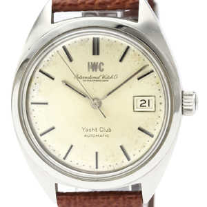 IWC Yacht Club Automatic Stainless Steel Dress Watch