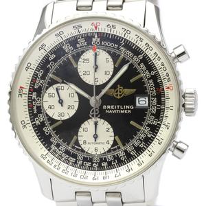 【BREITLING】ブライトリング オールド ナビタイマー ステンレススチール 自動巻き メンズ 時計 A13022
