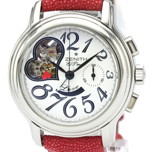 Zenith Chronomaster Automatic Stainless Steel Women's Sports Watch 03.1230.4021