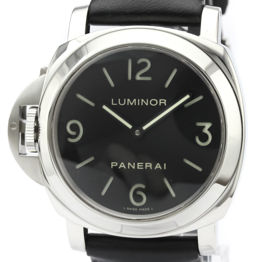 Officine Panerai Luminor Mechanical Stainless Steel Men's Sports Watch PAM00219