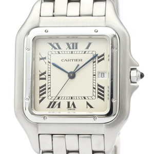 Cartier Panthere De Cartier Quartz Stainless Steel Men's Dress Watch W25032P5