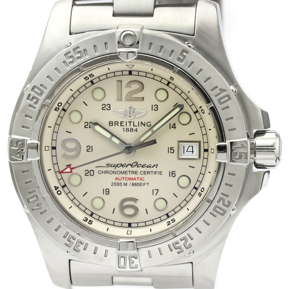 Breitling Superocean Automatic Stainless Steel Men's Sports Watch A17390