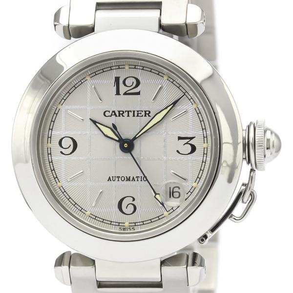 【CARTIER】カルティエ パシャC ステンレススチール 自動巻き ユニセックス 時計 W31023M7