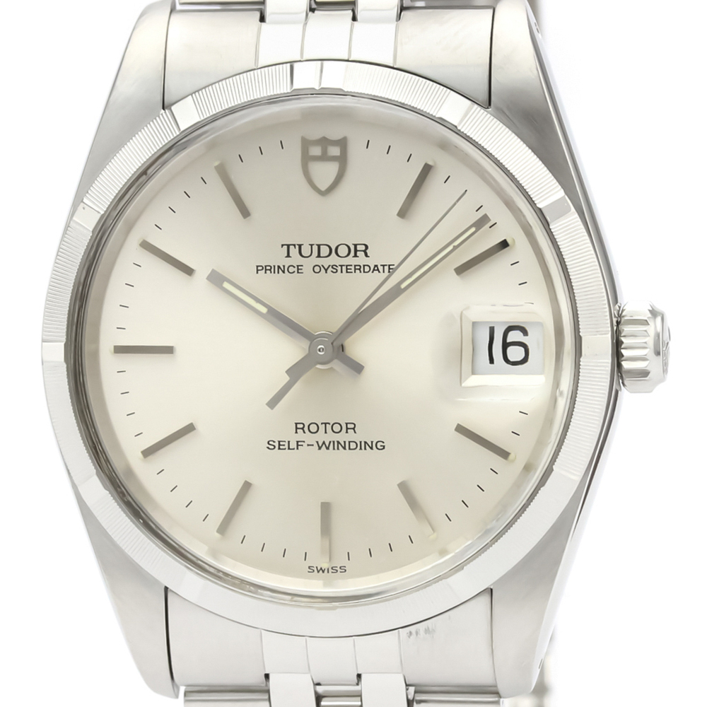 Tudor Prince Oyster Date Automatic Stainless Steel Men's Dress Watch 74010