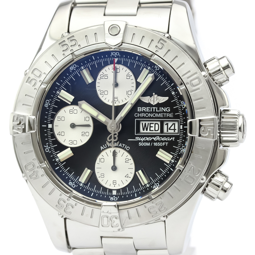 BREITLING Chrono Super Ocean Steel Automatic Mens Watch A13340
