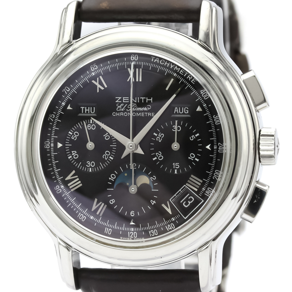 Zenith Chronomaster Automatic Stainless Steel Men's Dress Watch 01.0240.410