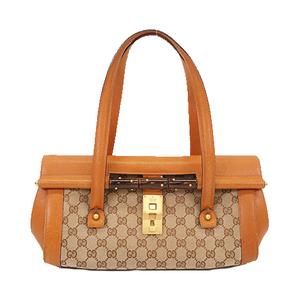 グッチ(Gucci) バンブー ハンドバッグ  Handbag  114993 レディース GGキャンバス ハンドバッグ ベージュ