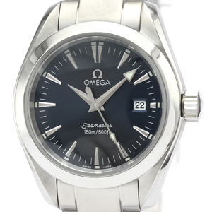 Omega Seamaster Quartz Stainless Steel Women's Sports Watch 2577.80