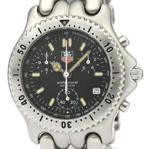 TAG HEUER Sel Chronograph 200M Steel Quartz Mens Watch CG1110