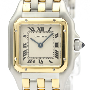 Cartier Panthere De Cartier Quartz Stainless Steel,Yellow Gold (18K) Women's Dress Watch -