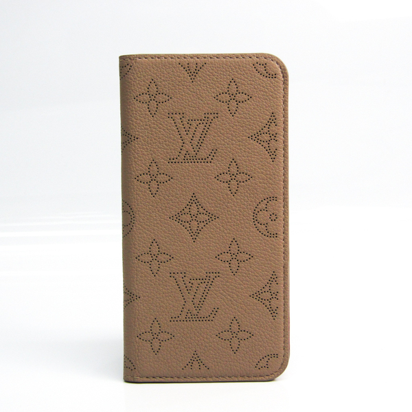 Louis Vuitton Mahina Mahina Leather Phone Flip Case For IPhone 7 Plus Galle iPhone 7+ Folio M61891
