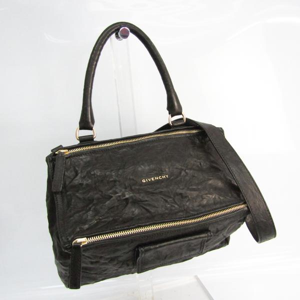 Givenchy Pandora Medium 11L5250004 Women's Leather Handbag,Shoulder Bag Black
