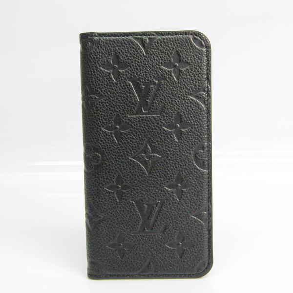 Louis Vuitton Monogram Empreinte Monogram Empreinte Phone Flip Case For IPhone XS Max Noir IPHONE XS MAX Folio M68592