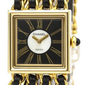 シャネル(Chanel) マドモアゼル クォーツ K18イエローゴールド(K18YG) レディース ドレスウォッチ H0006