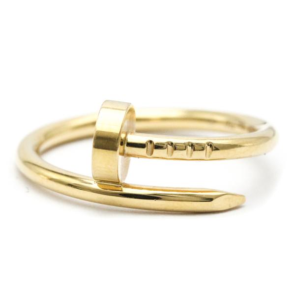 Cartier Juste Un Clou Juste Un Clou Ring SM B4225900 Yellow Gold (18K) Band Ring