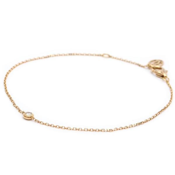 Cartier Diamants Légers De Cartier B6045717 Pink Gold (18K) Diamond Charm Bracelet Carat/0.04