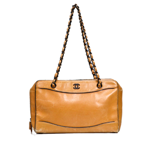 Chanel Women's Shoulder Bag Beige