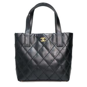 Chanel Matelasse Women's Handbag Black