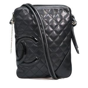 Chanel Matelasse Women's Shoulder Bag Black
