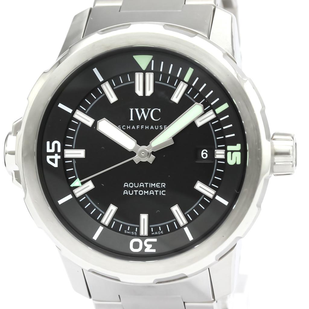【IWC】アクアタイマー ステンレススチール 自動巻き メンズ 時計 IW329002