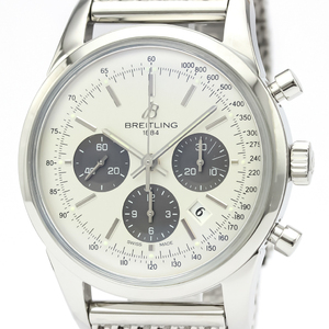 Breitling Transocean Automatic Stainless Steel Men's Sports Watch AB0152