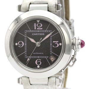 Cartier Pasha C Automatic Stainless Steel Unisex Dress Watch W3109599