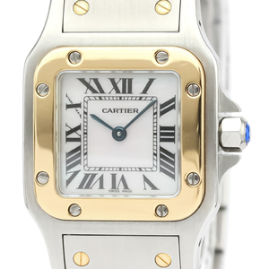 Cartier Santos Galbee Quartz Pink Gold (18K),Stainless Steel Women's Dress Watch W20103C4