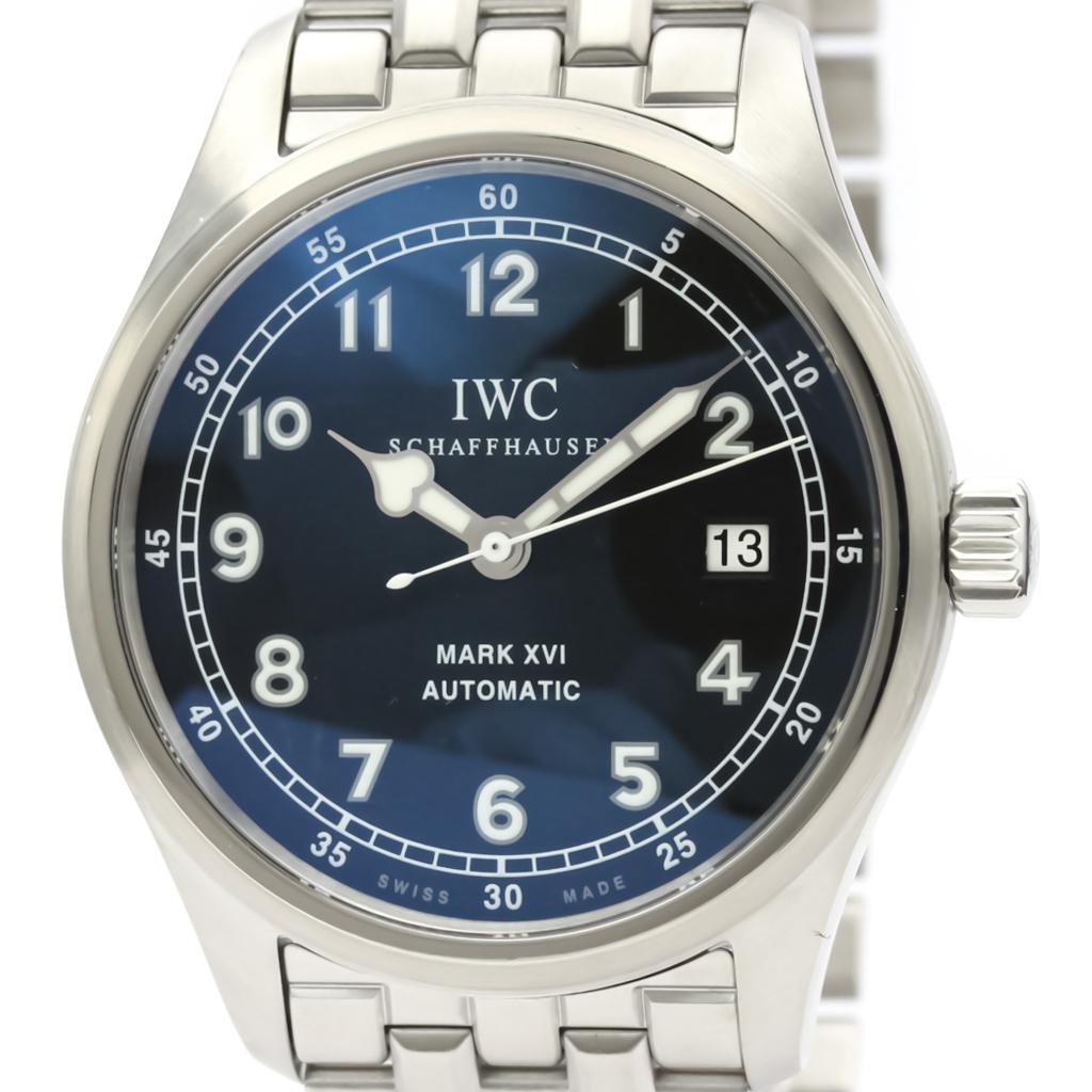 IWC マーク16 自動巻き ステンレススチール(SS) メンズ スポーツウォッチ IW325517