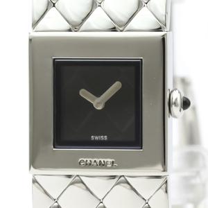Chanel Matelasse Quartz Stainless Steel Women's Dress Watch H0009