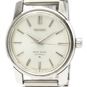 キングセイコー (KING SEIKO) セカンドモデル ステンレススチール 手巻き メンズ 時計 44-9990