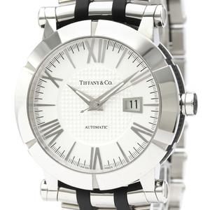 Tiffany Atlas Automatic Rubber,Stainless Steel Men's Dress Watch Z1000.70.12A21A00A
