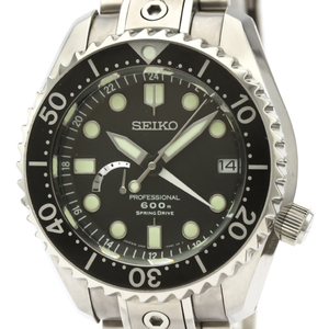 Seiko Prospex Spring Drive Titanium Men's Sports Watch SBDB011(5R66-0BC0)