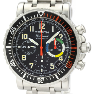 Zenith Rainbow Automatic Stainless Steel Men's Sports Watch 01.0480.405