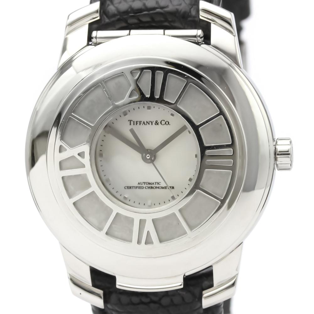 Tiffany Atlas Automatic Stainless Steel Men's Dress Watch