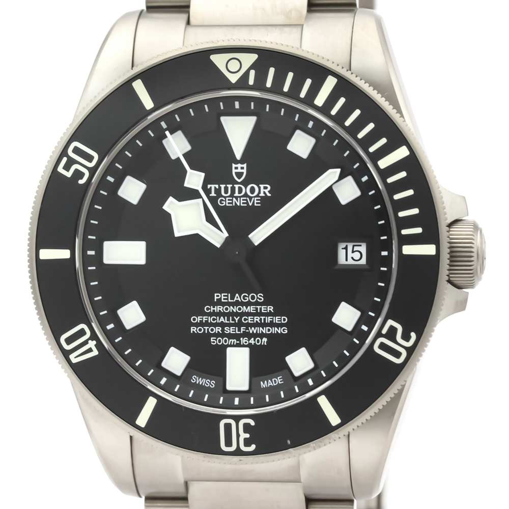 Tudor Pelagos Automatic Titanium Men's Sports Watch 25600TN