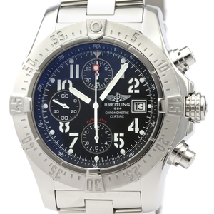 Breitling Avenger Automatic Stainless Steel Men's Sports Watch A13380