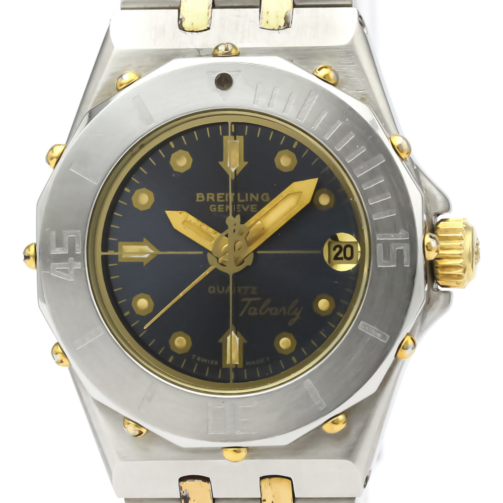 Breitling Tabarly Quartz Gold Plated,Stainless Steel Women's Sports Watch 80790