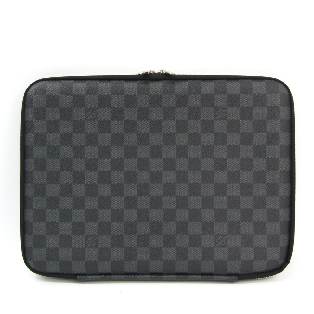 Louis Vuitton Damier Graphite Computer Sleeve PM N58026 Men's Laptop Bag Damier Graphite