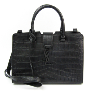 Saint Laurent Baby Cabas 400914 Women's Leather Handbag,Shoulder Bag Black