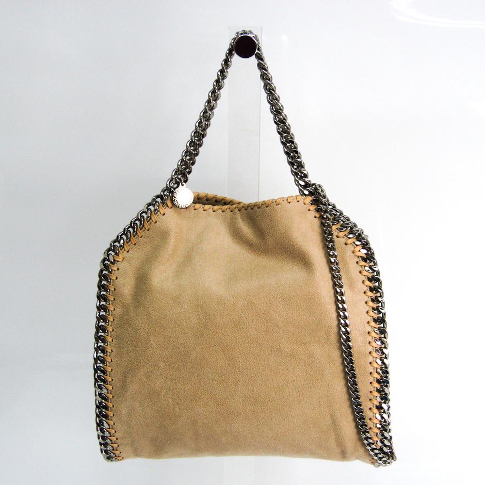 Stella McCartney Mini 371223 W9132 Women's Polyester Handbag,Shoulder Bag Beige
