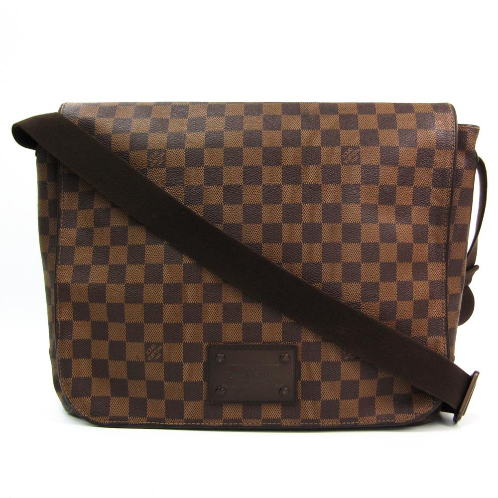 Louis Vuitton Damier Brooklyn GM N51212 Unisex Shoulder Bag Damier Canvas