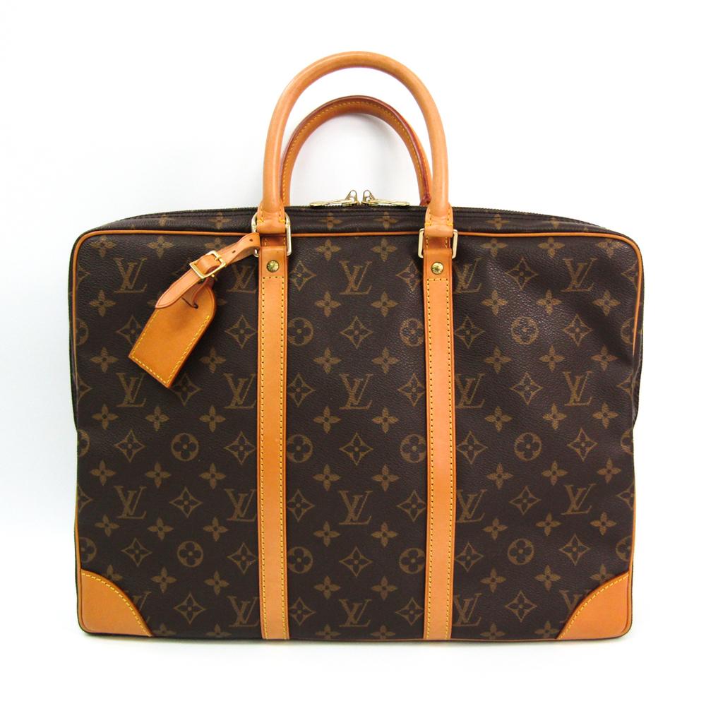 Louis Vuitton Monogram Porte Documan Voyage M53361 Men's Briefcase Monogram