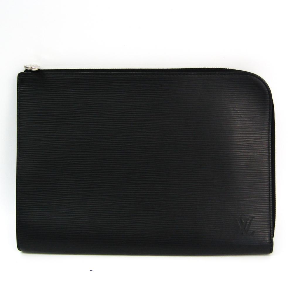 Louis Vuitton Epi Pochette Jules PM NM2 M62646 Men's Clutch Bag Noir