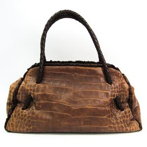 Furla Women's Leather Tote Bag Brown,Dark Brown
