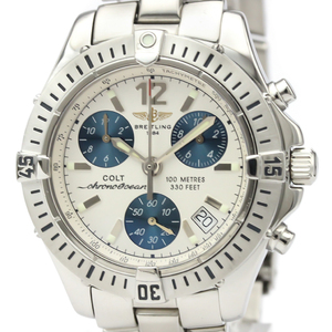 Breitling Colt Quartz Stainless Steel Men's Sports Watch A53350