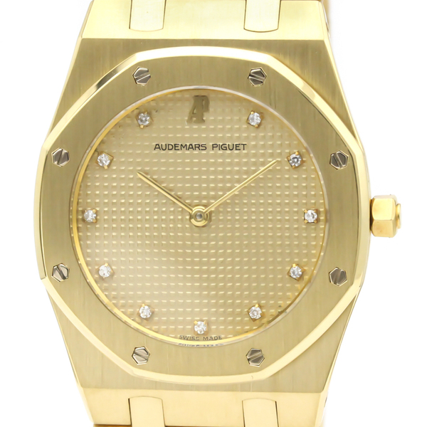 Audemars Piguet Royal Oak Quartz Yellow Gold (18K) Men's Dress Watch 6303-789