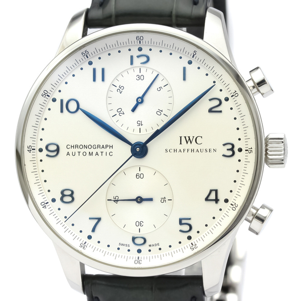 IWC Portugieser Automatic Stainless Steel Men's Sports Watch IW371446